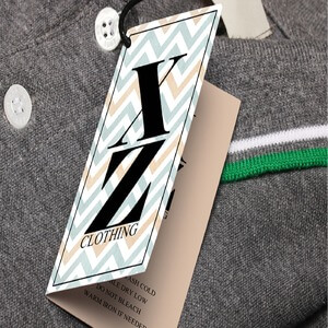Clothing Hang Tag Design: 12 Trendy Examples